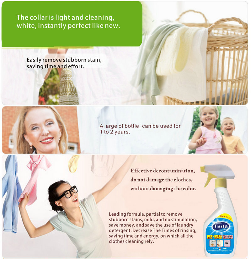 Tinla Laundry Stain Remover 500ml