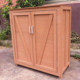 Wood Plastic Composite Garden Storage Shed