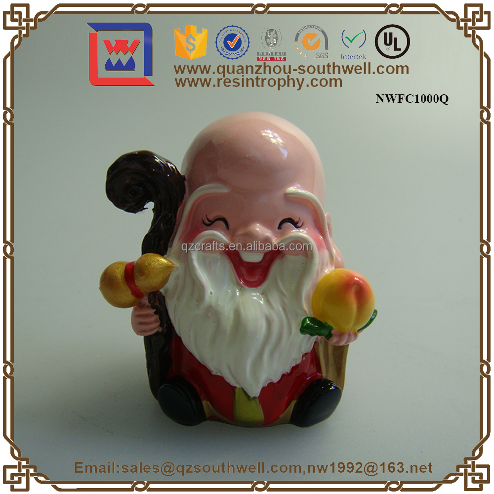 Oriental Style Custom Resin Charactor Statue Resin Figurines