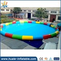 Largest inflatable swimming pool, round inflatable pool floating swimming pool for kids