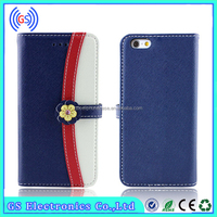 Mobile Phone Wallet Flip Leather Case For Galaxy Gio S5660