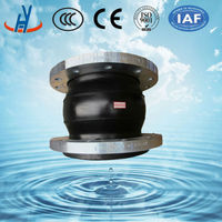EPDM single sphere expansion joint flange type