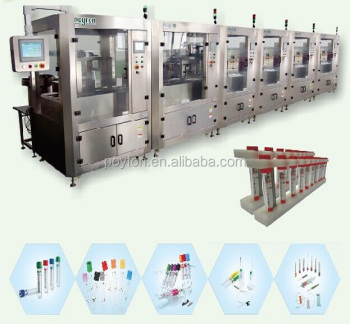 Blood collection tube machine