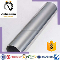SCH40 decoration pipe welded 304 stainless steel hollow tube standard size