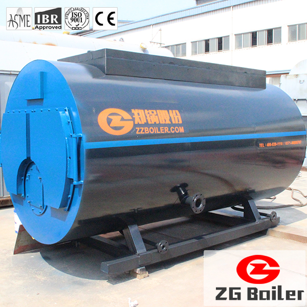 ASME industrial fire tube oil gas fired steam generator price