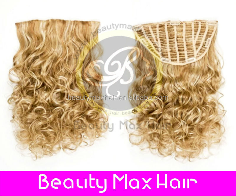 Beautymax Hair 5A Grade deep wave blonde human hair wigs