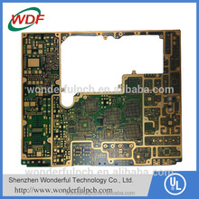 Rohs certificate immersion plated 6-layer ps4 pcb