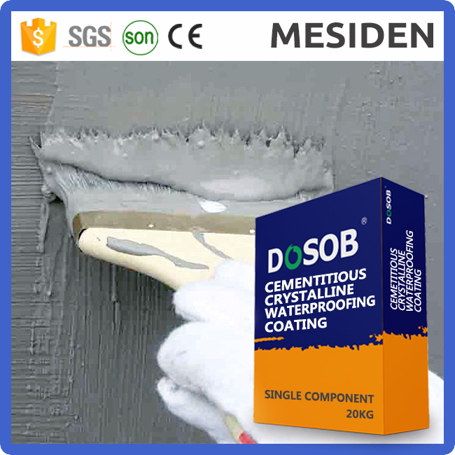 High Quality Cementitious Capillary Crystalline Waterproof Coating
