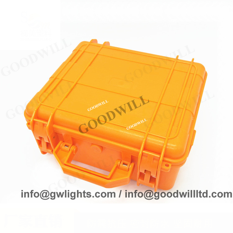 Waterproof Carrying Rugged Hard Plastic Equipment Case With Foam