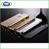 Full Body Luxury Aluminum Metal Bumper Frame +Mirror Back Case Cover For iPhone