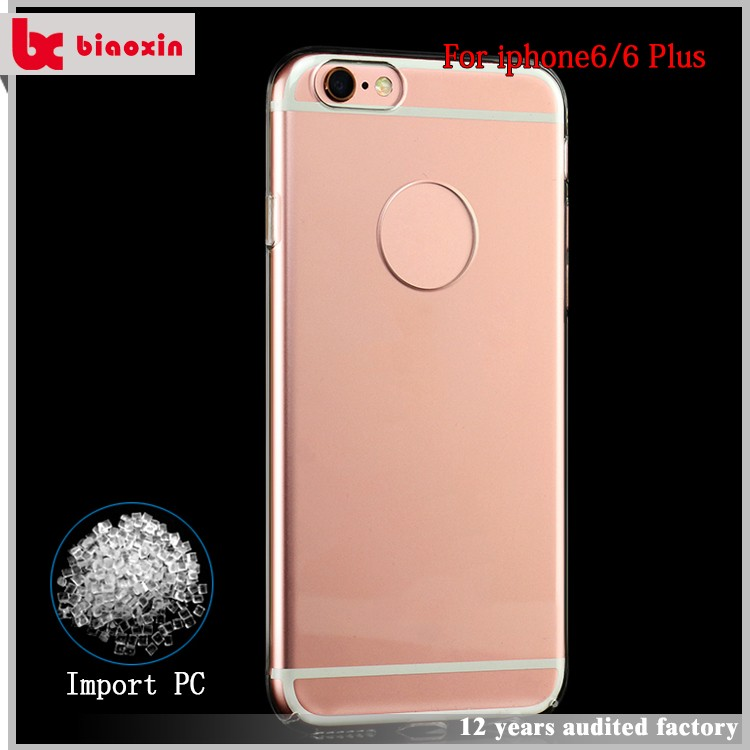 Latest design new for ipone 6s case transparent crystal clear case,clear slim case for for ipone 6,slim for ipone 6 case