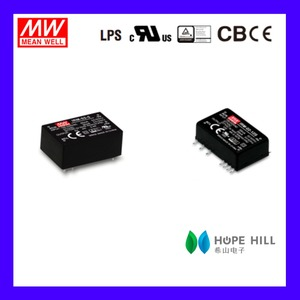 Original MEAN WELL IRM-02-3.3 2W 3.3V single output Miniature Encapsulated type Green open frame switching power supply