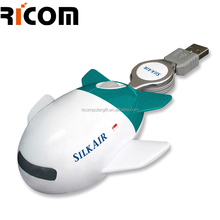 airplane computer mouse,usb airplane shaped mouse,computer plane shape mouse MO7004 Shenzhen Ricom