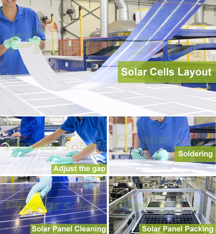 most efficient poly solar panel 260W