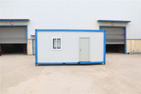 shipping practical low mobile container house skirting