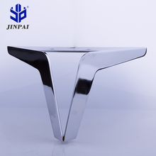 Jinpai high quality stainless steel sofa legs modern metal furniture sofa legs simple metal sofa legs