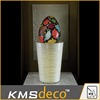 Factory direct china supplier decoration led vase with Easter Egg led christmas lights vase led light base