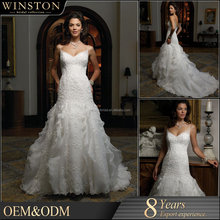OEM ODM customized wedding dresses country style