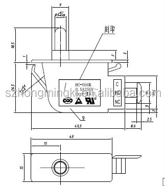 micro rotary switch micro laser switch wiring diagram
