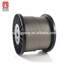 7*7 wire rope, PVC / TPU coated steel cable ,galvanized steel wire rope