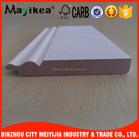 Home Decorative Skirting Moulding Waterproof Veneer