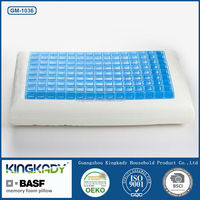 Silicone memory foam gel pillow/gel pillow summer season products
