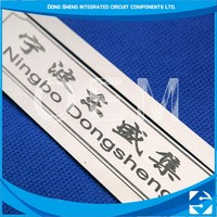 High quality custom photo chemical etching garment decoration metal label