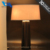 Hot selling of indoor lighting home design varnished oak decorative table lamp