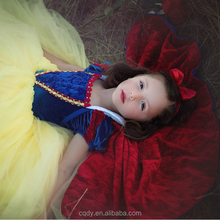 New Year Girls' Princess Dresses Snow White Costume Fancy Halloween Girls Party Dresses