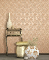 pvc wallpaper for household or school