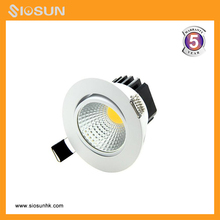 Focos COB LED Spot 5W 7W 2700K-6500K Reccessed LED Downlights