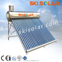 hot sale low pressure parabolic trough solar collectors with vacuum tube
