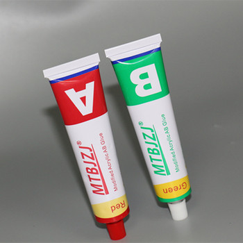 Quick and Strong Aluminum Tube Adhesive Epoxy Resin Steel AB Glue