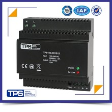 shanghai TPS din rail AC full range input 100W 12v 6.5a power supply