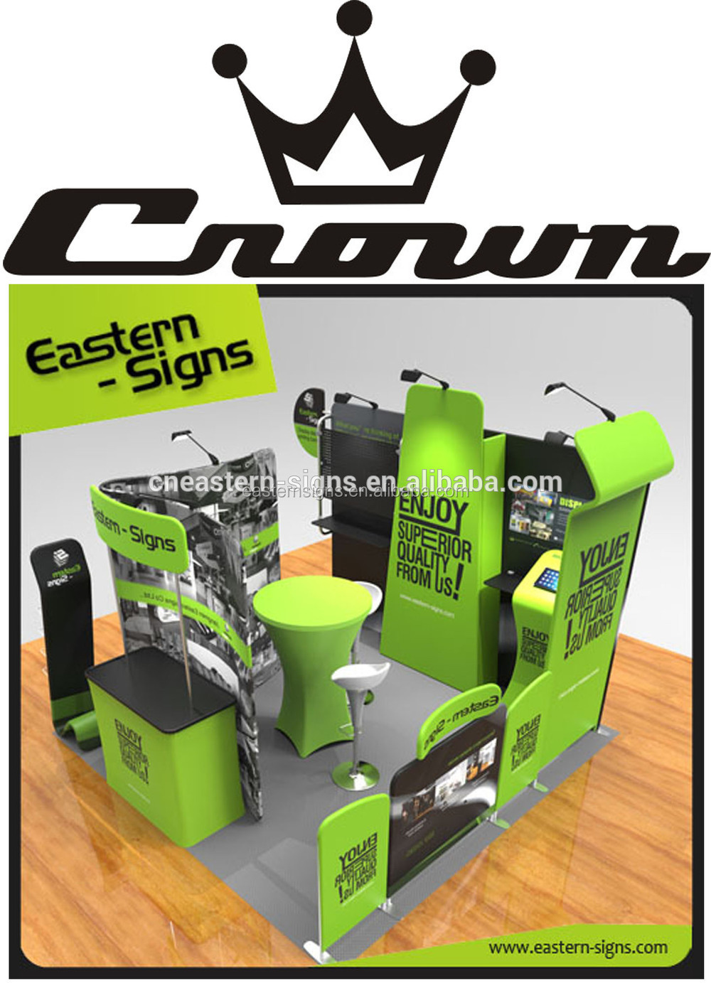 Collapsible trade show Booth Display