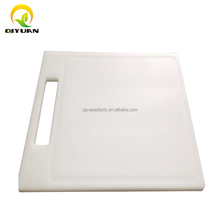 High Quality White HDPE Food Grade Plastic Chopping Board plastic cutting board for home kitchen
