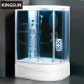 High Acrylic Tray D Shape Luxury Steam Shower Tub K-7067