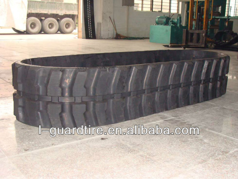 EXHIBITOR rubber track for project vehicles