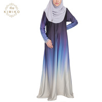 New Model In Dubai Fashion High quality Elegant Muslim Long Abaya Dress