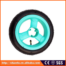 children tricycle parts diameter 120mm rubber wheel