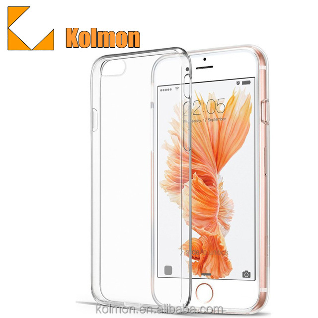 2017 new Bulk Wholesale best selling crystal clear protective design your own mobile water proof phone case for iphone 7