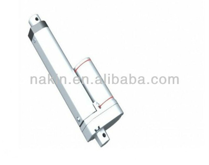 High speed electric tube actuator with dc motor linear