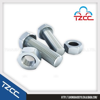 hot sale hex bolt and nuts