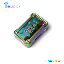 Box mod 2018 Teslacigs new inventions Tesla PUNK 220W in vape box mod