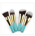 2017New arrival 9pcs professional makeup brush set/Private Label Cosmetic Makeup Brush Set