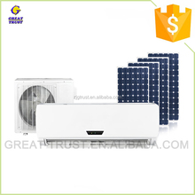 Multifunctional solar powered mini air conditioner vacuum tube solar air conditioner for wholesales