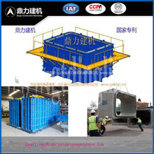 Prestressed vertical concrete box culvert
