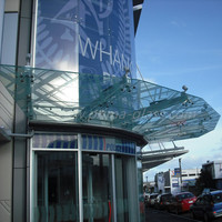 Prima unlimited digital printing glass designs for windows/canopies