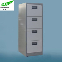 Plastic handles double color vertical multi drawer file cabinets