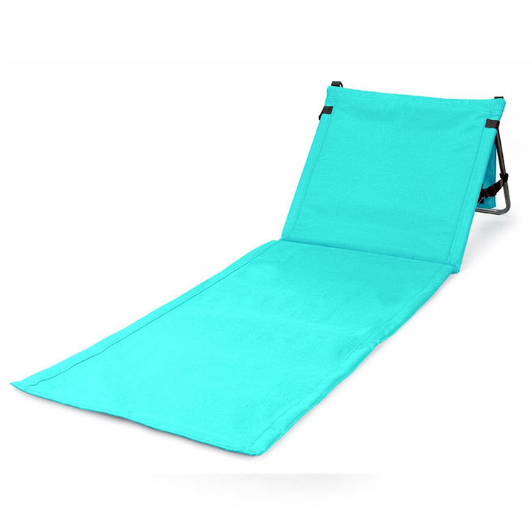 Blue oxford dry fast fabric outdoor folding beach chair